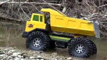 RC ADVENTURES – Radio Controlled 4×4 Tonka Mining Truck