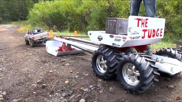 RC ADVENTURES – TTC 2013 – SLED PULL / Weight PULL – 4X4 Tough Truck Challenge