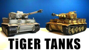 "RC ADVENTURES – AiRSOFT RC TANKS – ""Tiger Tank"" – Panzerkampfwägen"