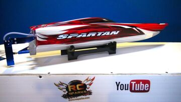 RC ADVENTURES – Unboxing a Traxxas Spartan V-Hull Boat RTR (Quick Overview)