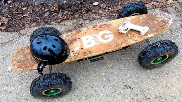 RC ADVENTURES – Radio Controlled Off Road Skateboard