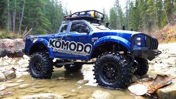 RC ADVENTURES – G Made GS01 Komodo 4×4 1/10 Electric Trail Truck – Let's go Creekin'!
