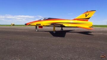 RC ADVENTURES – BVM BANDiT / JetCat P100 Turbine RC JET