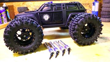RC ADVENTURES – LEM Traxxas Summit 1/10 V4 Axle Upgrade (4 drive shafts swap from MiP)