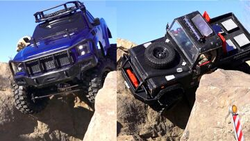 RC ADVENTURES – Tips & Tricks – Crawlers: Heavy Truck Vs Light Truck – Hard Body vs Lexan Body