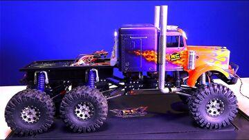 RC ADVENTURES – OiL SMOKE KiT installed – OPTiMUS  OVERKiLL 6x6x6 Semi Truck