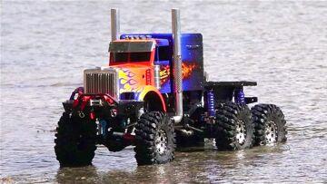 PRZYGODY RC – OPTiMUS OVERKiLL on Patrol – 6x6x6 1/10th scale Transformers Tribute Truck