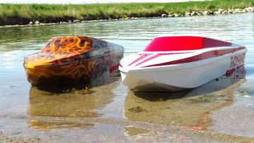 RC ADVENTURES – UNBOXiNG THRASHER JET BOATS! 5s LiPO – Streamline RC – Maiden Run