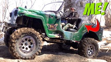 LOCKDOWN: 1940's JEEP WILLYS 4×4 on the BACKYARD TRAIL COURSE | RC ADVENTURES