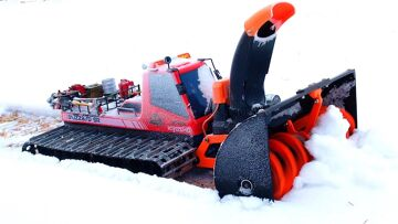 RC ADVENTURES – AMAZiNG 3D Printed Snow Blower – Tree Branch Clog – MUST SEE!