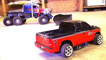 RC ADVENTURES – Making a Drift Truck – Harley Davidson F350 SUPER DUTY