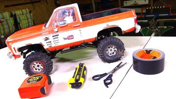 CHEAP RC Truck Mod: Making Inner Wheel Wells the Easy Way! | RC ADVENTURES