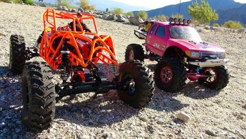 PiNKY & TANGO in the Southern California DESERT – PART 1 | RC ADVENTURES