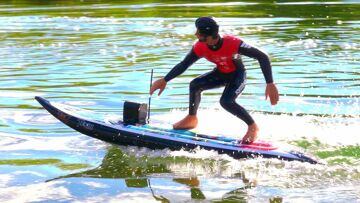 RC SURFBOARD – VERY Fast & Upgraded! KYOSHO Surfer 3.0 – RC ADVENTURES