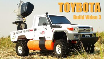 RC ADVENTURES – TOYBOTA PROJECT – PT 3 – BBC TOP GEAR TRiBUTE BUiLD – TOYOTA TRUCK-BOAT