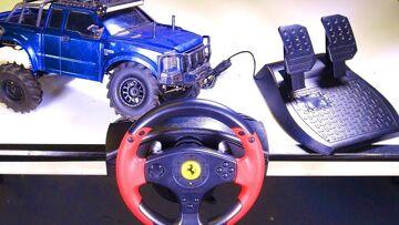 RC AVONTUREN – RACE WHEEL MOD – for RC! Playstation, XBox, PC, Rc? Thrustmaster – Radio – Spektrum