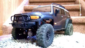 RC ADVENTURES – NEW GOTHAM CiTY RC BEAT DOWN – HPI Venture  Scale Truck w/ Maurice #ProudParenting !