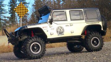 RC AVENTURI – HUGE 1/8th Crawler Jeep 4X4 on Dirty Trails