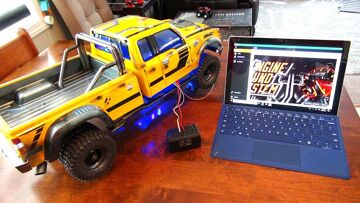 """RC ADVENTURES – TUNiNG the DiESEL ENGiNE & TURBO for BUMBLEBEE-ST! PROGRAMMiNG """"ESS-DUAL"""" – PiCKUP"""