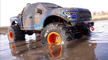 MUD BATH for the FORD RAPTOR – Blows Motor & Smoke Show!  | RC ADVENTURES