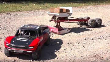 TRAXXAS UDR PULLS the JUDGE! Weight Sled – 30 FT Tractor Pull | RC ADVENTURES