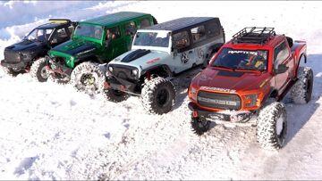 NEXT BIG THING: 1/8 scale Trail Trucks : BACKYARD TRAIL PARK – 4×4 Cragsman Crew | RC AVENTURI