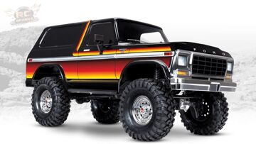 """RC 冒险 – UNBOXiNG a NEW 1979 """"SUNSET"""" TRAXXAS TRX-4 BRONCO – 1/10th Scale Trail Crawler"""