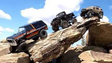 Three Guys play w/ Radio Controlled 4×4 Trucks – FORD, DODGE, TOYOTA  | RC ADVENTURES