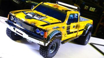 RC ADVENTURES – PROJECT: BUMBLEBEE-ST PT 6 – 4×4 DUALLY Model Pick Up Truck (Tribute to Bumblebee)