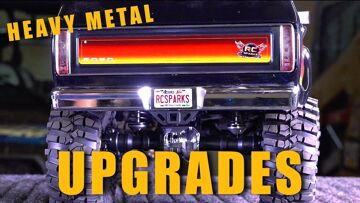 TRX4 TRAXXAS FORD BRONCO HEAVY METAL UPGRADES! | RC 冒险