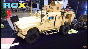 RC ADVENTURES – HUGE Military Presence at RCX – PT 2 – Interview with Taigen Tanks