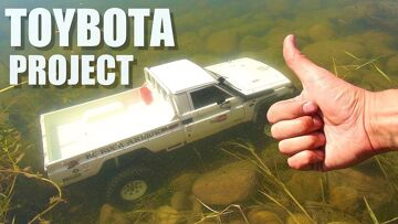 RC ADVENTURES – TOYBOTA PROJECT – PT 1 – BBC TOP GEAR TRiBUTE BUiLD – TOYOTA TRUCK-BOAT!