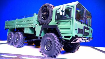 BEAST II 6X6 Triple Axle Trail RC Truck – Ready-to-Run! RC4WD Unboxing   RC AVONTUREN