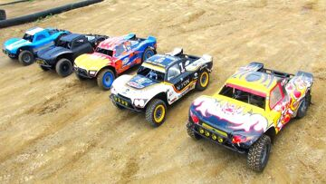 HUGE 1/5th GAS POWER Racing (Losi 4×4 – PT 2) Blackfoot RC PARK | RC ADVENTURES