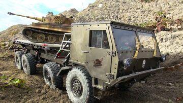 RC ADVENTURES – 8×8 Military CAPO TATRA & TiGER TANK on the ATTACK