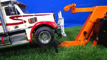 """RC ΠΕΡΙΠΈΤΕΙΕς – Behind the Scenes Pre-Run for """"SCANiA R560 Wrecker Tow Truck, Towing Practice"""" Film"""