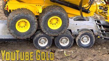 YouTube GOLD – ROADS PAVED with GOLD!  Eine Miniatur-Bergbau-Show (s2 e9) | RC ADVENTURES