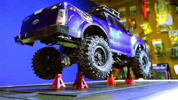 RC ADVENTURES – Beadlock Tire Repair – 1/10 scale G-Made Komodo 4×4 Trail Truck