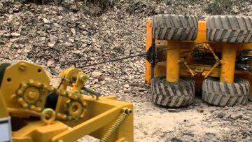 HEAVY  ACCIDENT l  CONSTRUCTION ACCIDENT l KIROVETS  K700 ! rc live action Toys