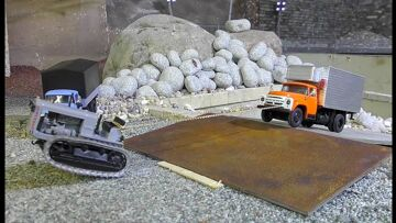 RC machines 1/43 scale! R/C miniature machines from  Daimler-MAR electronic conversion!!