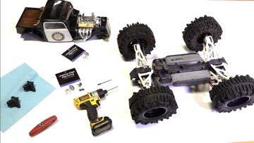 TRAXXAS SUMMIT – ONLY Differential & Transmission UPGRADE I KNOW OF! LEM MACHINING   RC ADVENTURES