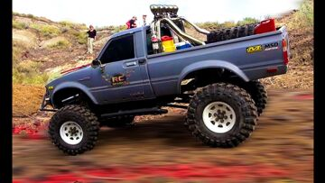 RC ADVENTURES – TTC 2012 – Eps 2 – Obstacle Course – Scale 4×4 Truck Challenge