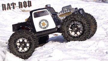 SHERIFF RAT ROD on RANGER SNOW PATROL – TRAXXAS SUMMIT MONSTER TRUCK | RC ADVENTURES