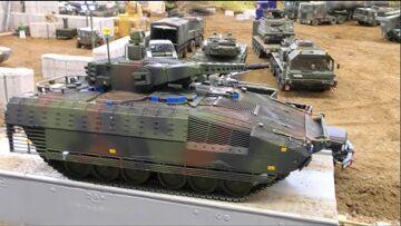 Very nice RC Tanks! Big R/C Tanks and Militäry Equipment! Best RC Tanks