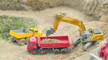 RC CONSTRUCTION MINE  | IMPRESSIONNANT ET COOL | RC MACHINES! Jouets RC