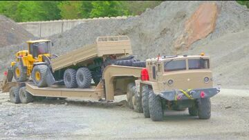 Maz 537 ΚΑΙ Τ 247 WORK VERY EXTREME! VOLVO L250 SECIAL! REAL CONSTRUCTION SITE