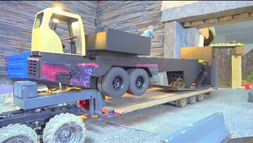 RC PULLING TRAILER! HEAVY WIGHT PULL TRAILER FOR TRACTORS AND TRUCKS! RC INTIMIDATOR PULLING SLED