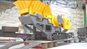RC STONE CRUSHER SC 80! 80t MACHINE WITH HEAVY ENGINE POWER! BEST RC 2020