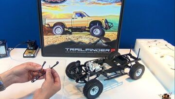 RC ADVENTURES – SCALE RC TRUCK – RC4WD Trail Finder 2 – 4X4 Toyota Hilux – BV2 (Electronics)
