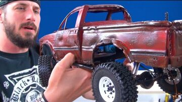 """RC ADVENTURES – PAiNT an RC – """"Top Gear Toyota Hilux"""" Tribute – PT3 – DETAiLiNG (RC4WD TF2) BV5"""